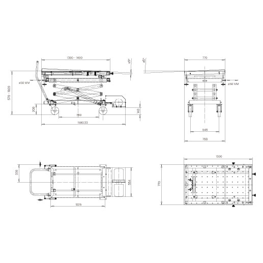 Elevador-de-taller-damarl-DM1200-DIBUJO-TECNICO