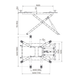 Elevador-de-taller-damarl-DM2.7T-DIBUJO-TECNICO
