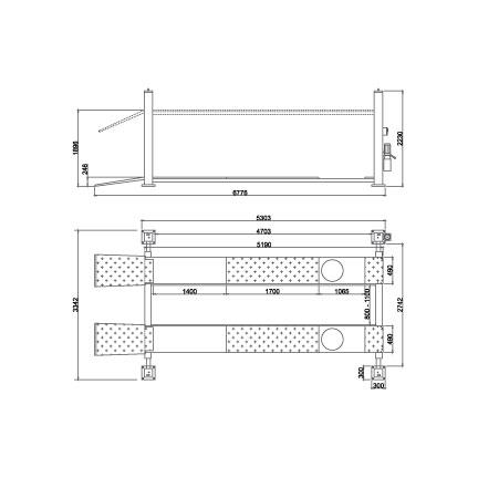 Elevador-de-taller-damarl-DM5.5F4-DIBUJO-TECNICO